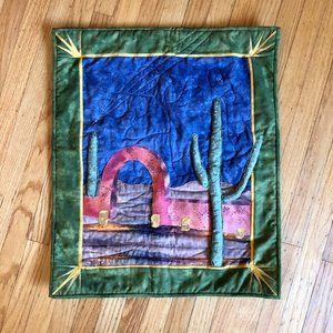 Vintage Cactus Southwest Wall Tapestry